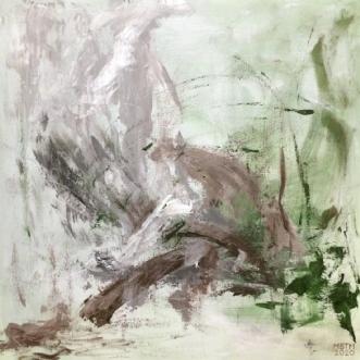 Langs med by Merete Bilde Toft Movang | maleri