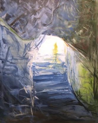 Udvejen by Merete Bilde Toft Movang | maleri