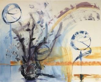 Trædemøllen by Merete Bilde Toft Movang | maleri