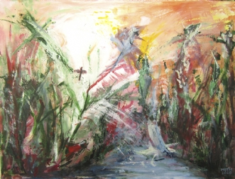 Liv by Merete Bilde Toft Movang | maleri