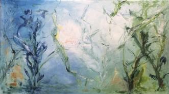 Underverdenen by Merete Bilde Toft Movang | maleri