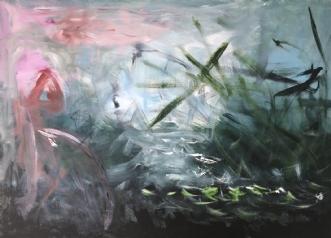 Sumpens Skønhed by Merete Bilde Toft Movang | maleri