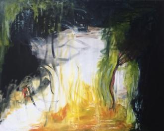 Glatis by Merete Bilde Toft Movang | maleri