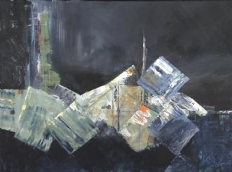 Terningerne er kast.. by Merete Bilde Toft Movang | maleri