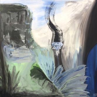 Styrke by Merete Bilde Toft Movang | maleri