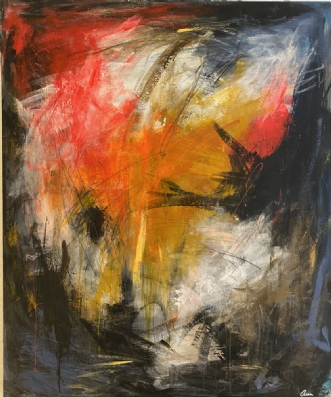 100 x 120 by Ann Sommer | maleri
