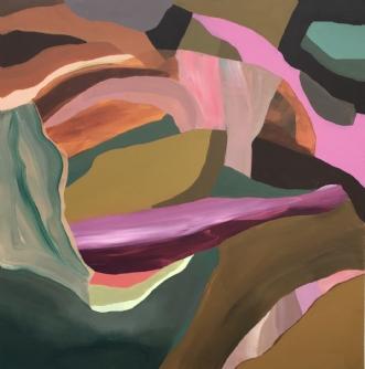 Wanderlust by Line Højmann | maleri