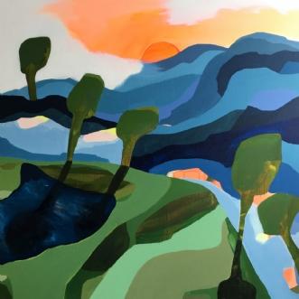 Fields of joy | Maleri