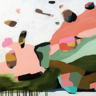 Lifemap by Line Højmann | maleri