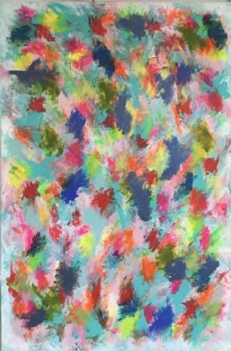 Flow by Marianne Johansen | maleri