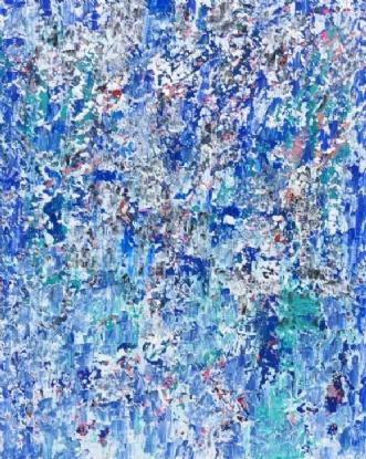 Blue by Marianne Johansen | maleri
