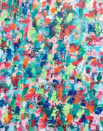 Life by Marianne Johansen | maleri