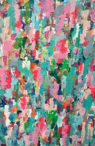 Stay strong by Marianne Johansen | maleri