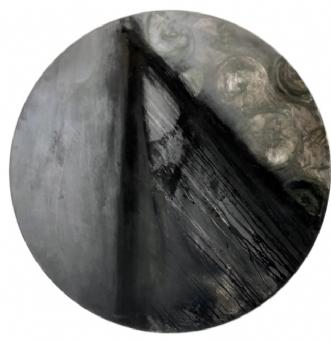 Bag facaden by Zita Clausen | maleri