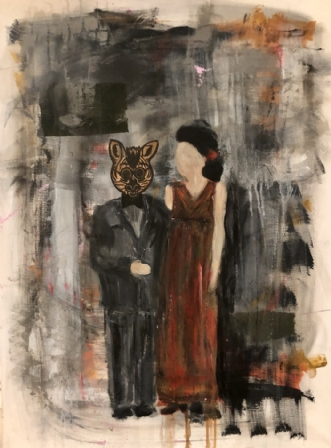 Face time  by Zita Clausen | maleri