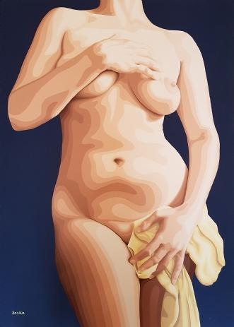 Ode to Botticelli by Saskia Gooding | maleri