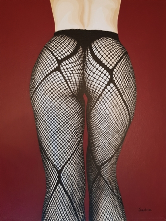 Fishnets by Saskia Gooding | maleri