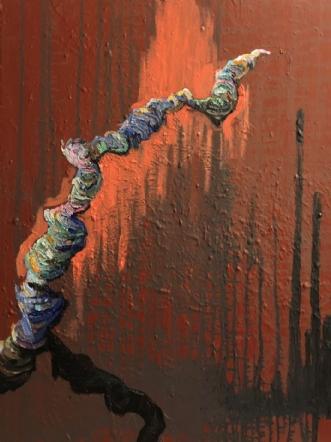 Dancing In The Fore.. by Lene Tranberg Laustsen | maleri