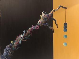 Grib Verden II by Lene Tranberg Laustsen | maleri