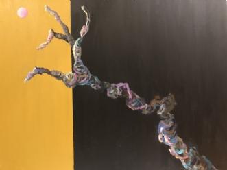 Grib Verden IV by Lene Tranberg Laustsen | maleri
