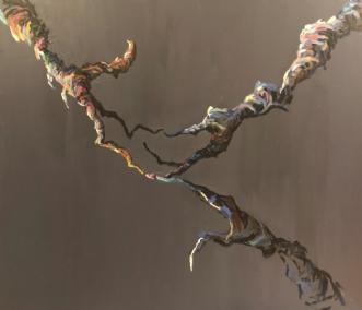 Forening I by Lene Tranberg Laustsen | maleri
