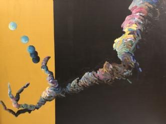 Grib Verden I by Lene Tranberg Laustsen | maleri
