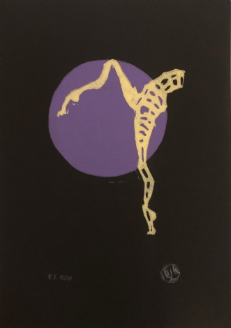 Linoleumstryk II by Lene Tranberg Laustsen | tegning