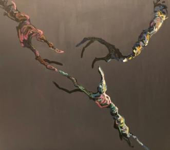 Forening II by Lene Tranberg Laustsen | maleri