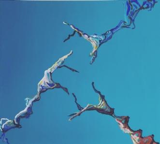 Forening  IV by Lene Tranberg Laustsen | maleri