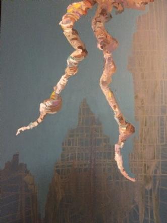 Dance II by Lene Tranberg Laustsen | maleri