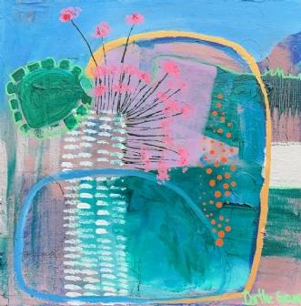3333 by Dorthe Gram | maleri