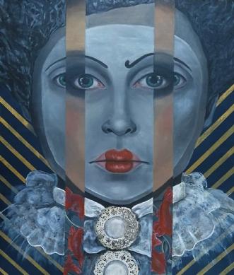 Maskerade by Camilla Berdin | maleri