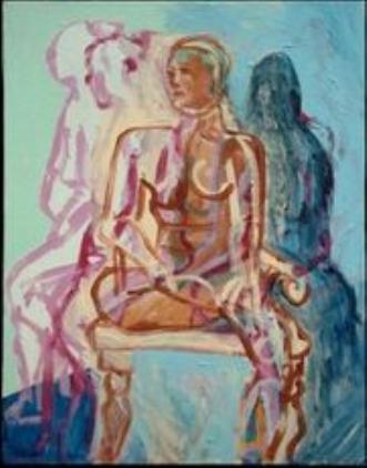 Forvandling by Lotte Kjøller | maleri