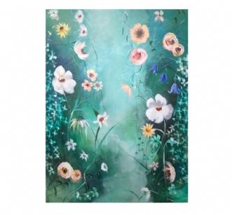 Floral abstraction afAnne Krøjer