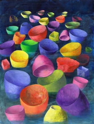 Havet by Lene Weiss | maleri