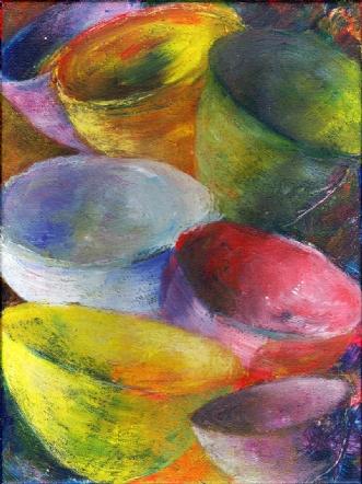 Blandede skåle (Mixed bowls)afLene Weiss