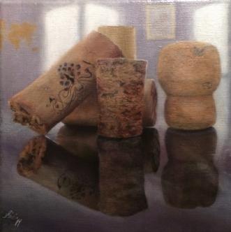 Dagen efter by Heidi Kaas | maleri
