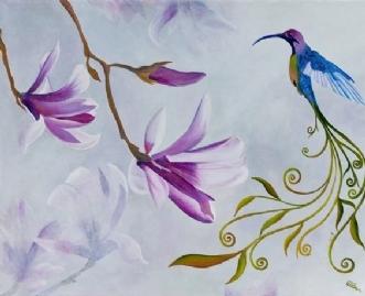 Magnolia by Britt Wilken | maleri
