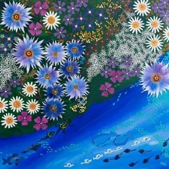 Curare paradiso by Britt Wilken | maleri