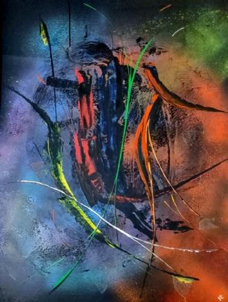 'Oxygen' by Kern Ekstrøm | maleri