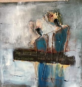 Corona billede by Rie Lykke | maleri
