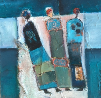 veninder by Rie Lykke | maleri