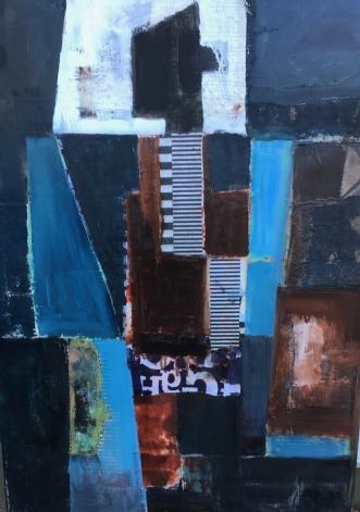 uden titel by Rie Lykke | maleri