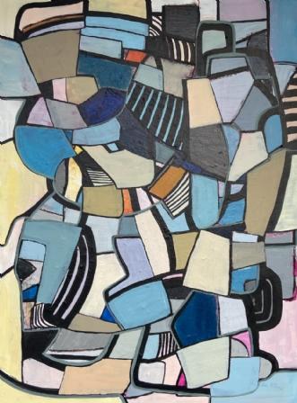 Await Relief 1/2020 by Ina Wittbold   maleri