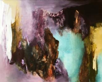 Uden titel 6 by Hanne Toft Ørum | maleri