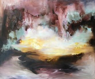 Jeg ser et andet st.. by Hanne Toft Ørum | maleri