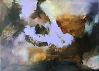 Uden titel 5 by Hanne Toft Ørum | maleri