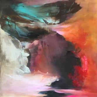 Liv by Hanne Toft Ørum | maleri
