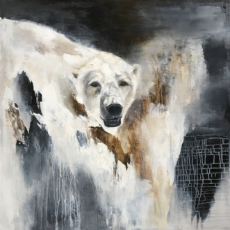 Tøbrud by Hanne Toft Ørum | maleri