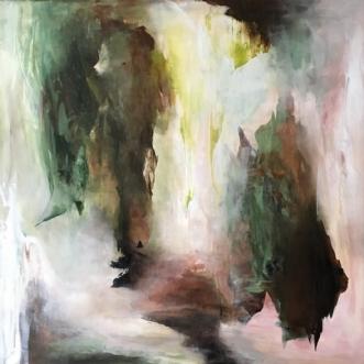 Brusende by Hanne Toft Ørum | maleri